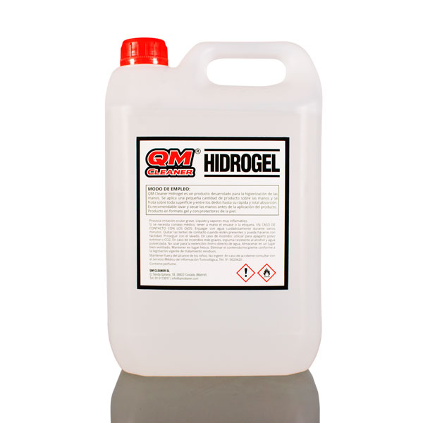 QM Cleaner Hidrogel | Gel Hidralcohólico 70%